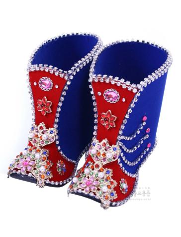 동자신발 (고급)-유리케이스 포함