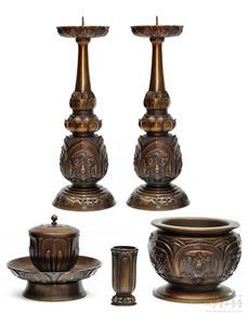 (청동) 명품 연꽃 촛대 (높이 25cm(小), 30cm(中), 43cm(大), 47cm(特大) 풀셋트