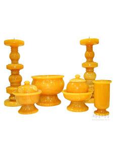 황옥 촛대풀셋트(20cm~65cm)